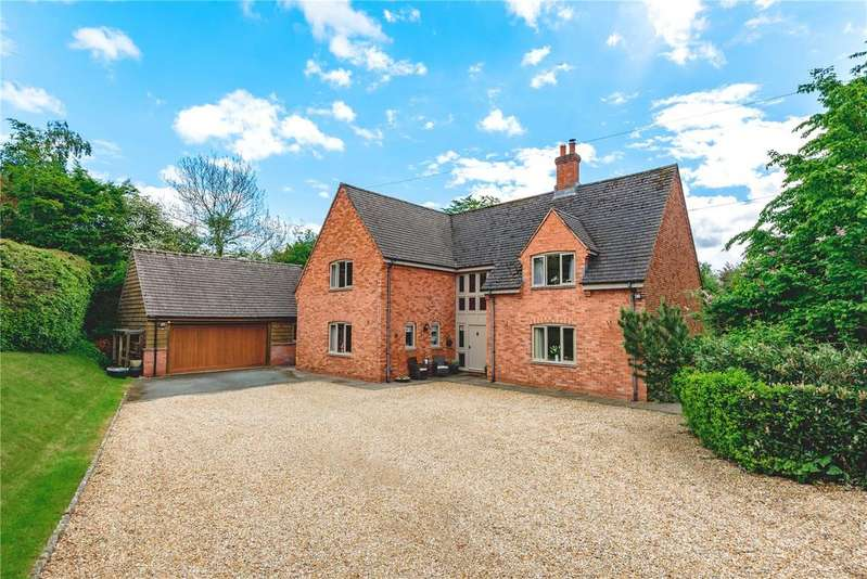 4 Bedrooms Detached House for sale in Milford, Newtown, Powys