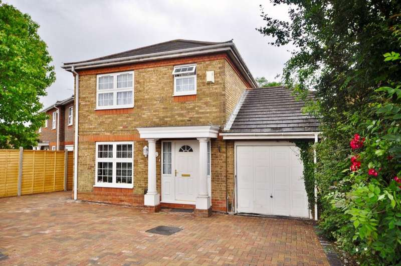3 Bedrooms Detached House for sale in Pasture Close, Lower Earley, Reading, RG6 4UY