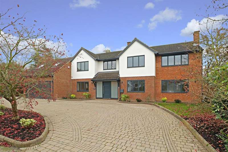 5 Bedrooms Detached House for sale in Homefield Road, Radlett