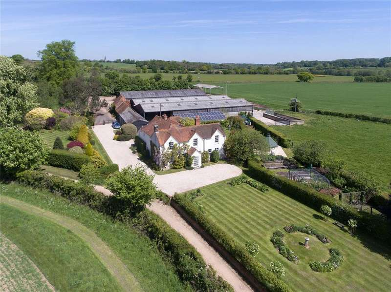 6 Bedrooms Farm Commercial for sale in Hyde End Lane, Brimpton, Reading, RG7