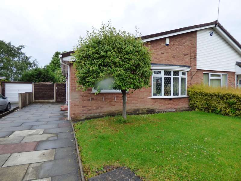 2 Bedrooms Semi Detached Bungalow for sale in Shearwater Road, Offerton, Stockport, SK2