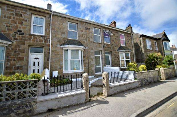 3 Bedrooms Terraced House for sale in Agar Road, Illogan Highway, Redruth, Cornwall