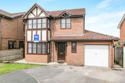 4 Bedrooms Detached House for sale in Clos Dinas Bran, Bodelwyddan, Denbighshire, ., LL18