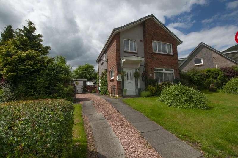 3 Bedrooms Detached House for sale in 1 Harviestoun Grove, Tillicoultry, Clackmannanshire FK13 6QT, UK