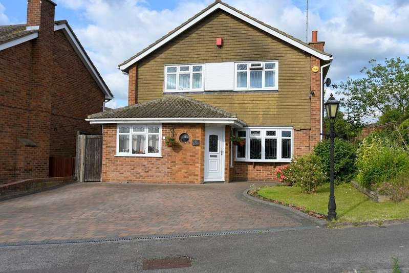 4 Bedrooms Detached House for sale in Turnpike Drive, Warden Hills, Luton, Bedfordshire, LU3 3RA