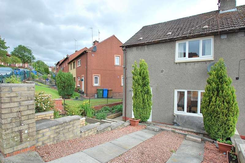 2 Bedrooms Semi Detached House for sale in Rosebank, Sauchie FK10