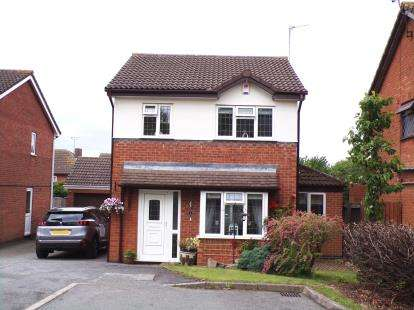 3 Bedrooms Detached House for sale in Trojan Way, Syston, Leicester, Leicestershire