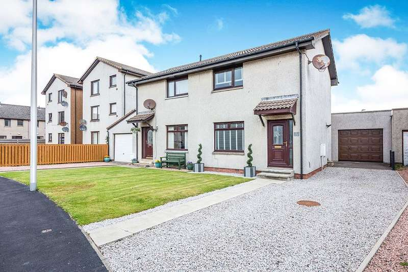2 Bedrooms Semi Detached House for sale in The Maltings, Montrose, DD10
