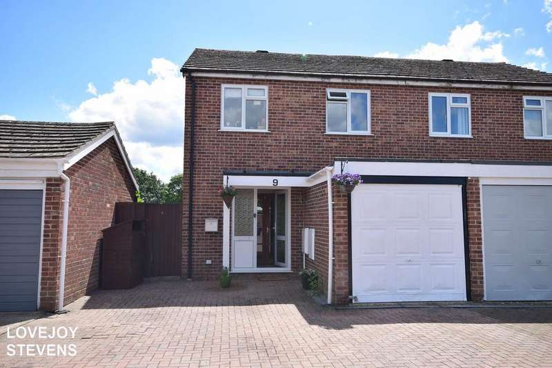 3 Bedrooms Semi Detached House for sale in Bodmin Close, Thatcham RG19