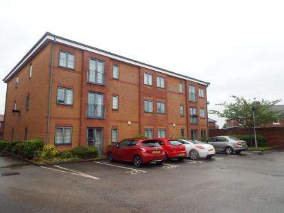 2 Bedrooms Flat for sale in Liebig Court, Widnes, Cheshire, WA8