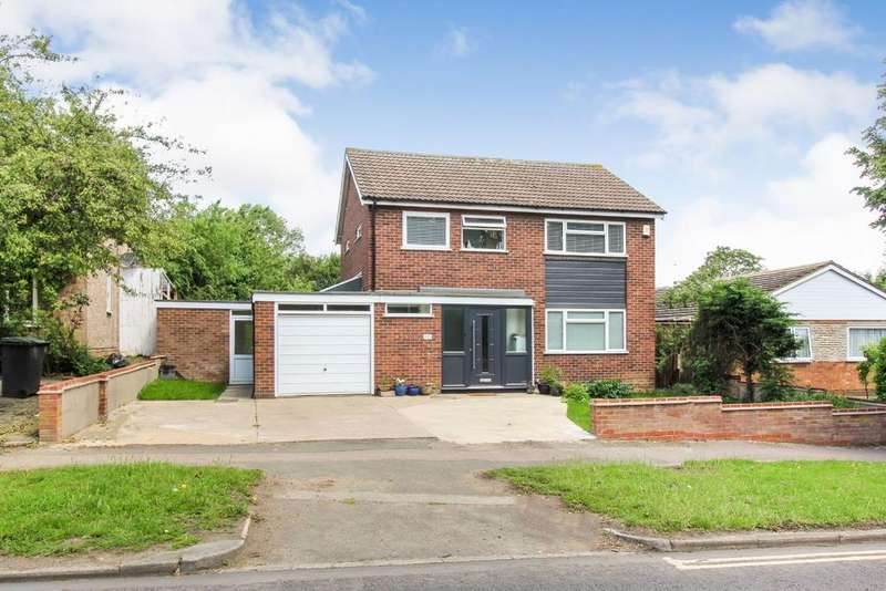 4 Bedrooms Detached House for sale in Brickhill Drive, Bedford MK41