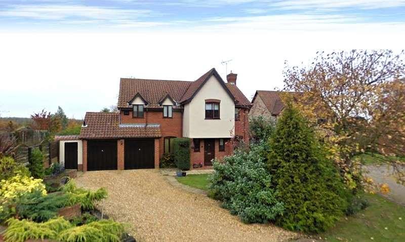 4 Bedrooms Detached House for sale in Forge Gardens, Yielden, Bedford, Bedfordshire. MK44 1BA