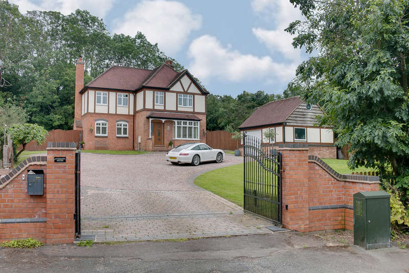 4 Bedrooms Detached House for sale in Enfield Road, Hunt End, Redditch, B97 5NF