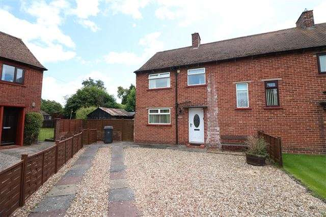 3 Bedrooms Semi Detached House for sale in Dukeswood Road, Longtown, Carlisle, Cumbria, CA6 5UJ