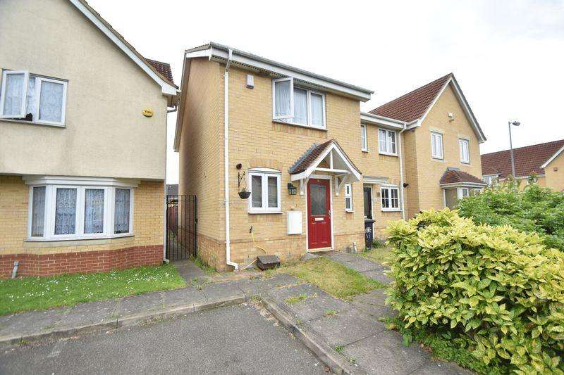 2 Bedrooms End Of Terrace House for sale in Linden Road, Luton