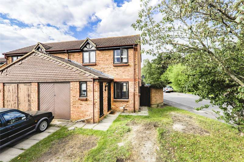 3 Bedrooms End Of Terrace House for sale in Kilmington Close, Bracknell, Berkshire, RG12
