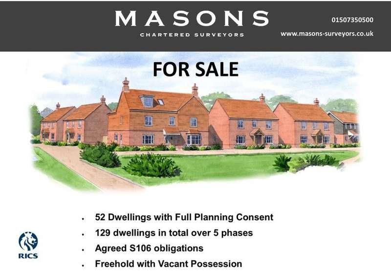 Residential Development Commercial for sale in Mareham Road, Horncastle LN9 6RH