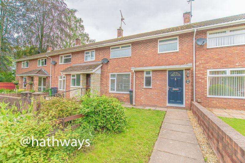 3 Bedrooms Terraced House for sale in Ludlow Close, Llanyravon