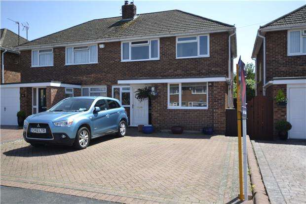 4 Bedrooms Semi Detached House for sale in Porchester Road, Hucclecote, GLOUCESTER, GL3 3ED