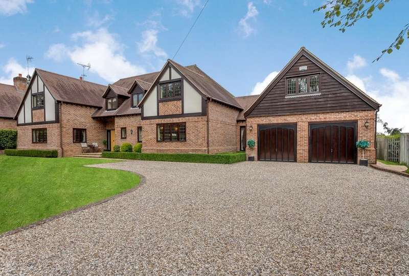 5 Bedrooms Detached House for sale in Manor Farm Lane, Tidmarsh, RG8