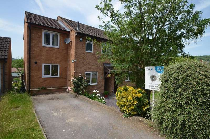 3 Bedrooms Semi Detached House for sale in Wheelers Walk, Stroud, GL5