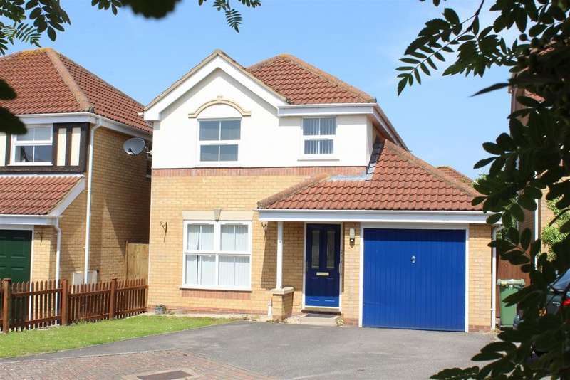3 Bedrooms Detached House for sale in Lion Close, Quedgeley