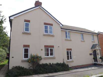 3 Bedrooms Semi Detached House for sale in Cromwell Close, Newtown, Berkeley, Gloucestershire