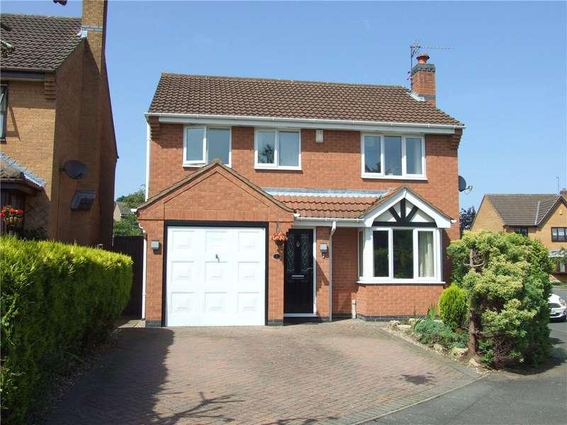 4 Bedrooms Detached House for sale in Farnborough Gardens, Allestree, Derby, Derbyshire, DE22