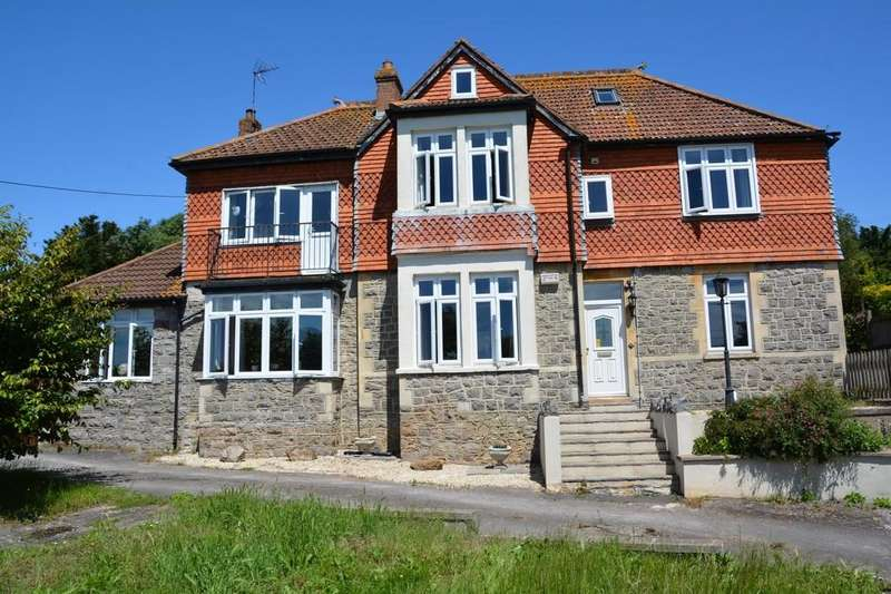 5 Bedrooms Detached House for sale in Shiplate Road, Bleadon, Weston-super-Mare