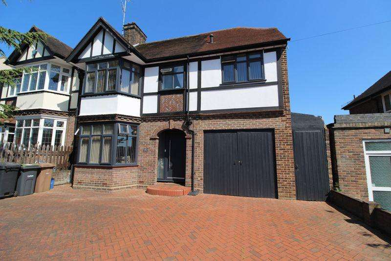 5 Bedrooms Semi Detached House for sale in Large Family Home on Montrose Avenue, Luton