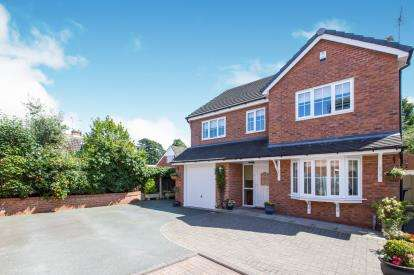 5 Bedrooms Detached House for sale in Limes Close, Haslington, Crewe, Cheshire