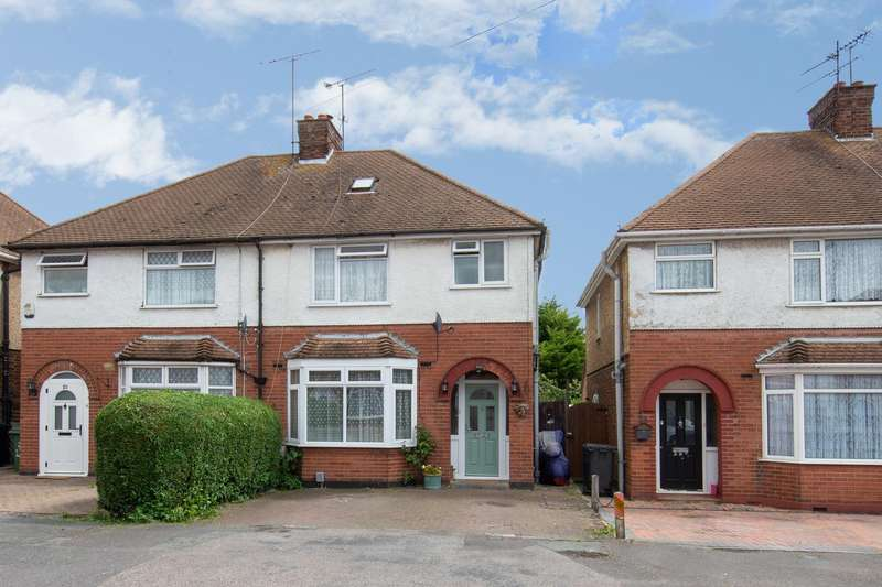 3 Bedrooms Semi Detached House for sale in Park Avenue, Houghton Regis, Bedfordshire