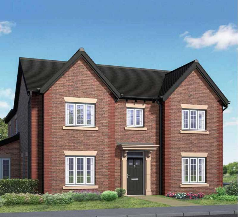 5 Bedrooms Detached House for sale in `The Wesley` Plot 1, The Woodlands, Newton With Scales