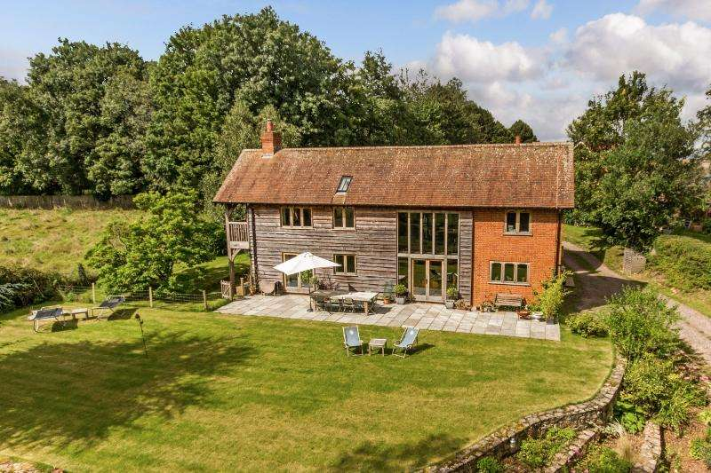 4 Bedrooms House for sale in Houghton, Stockbridge, Hampshire SO20