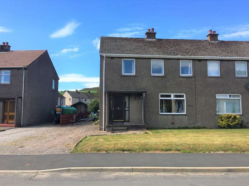 3 Bedrooms Semi Detached House for sale in Cumbrae Drive, Isle of Cumbrae KA28