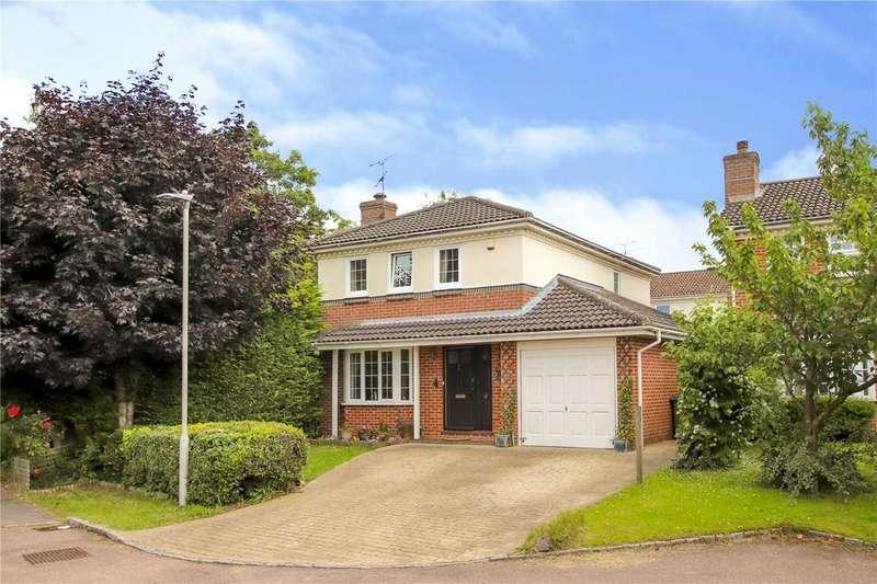 4 Bedrooms Detached House for sale in Wickham Vale, Bracknell, Berkshire, RG12