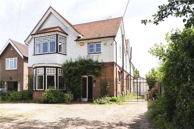 4 Bedrooms Detached House for sale in Cutbush Lane West, Shinfield, Reading