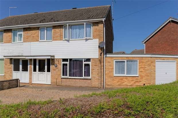 4 Bedrooms Semi Detached House for sale in Rycroft Avenue, Deeping St James, Peterborough, Lincolnshire