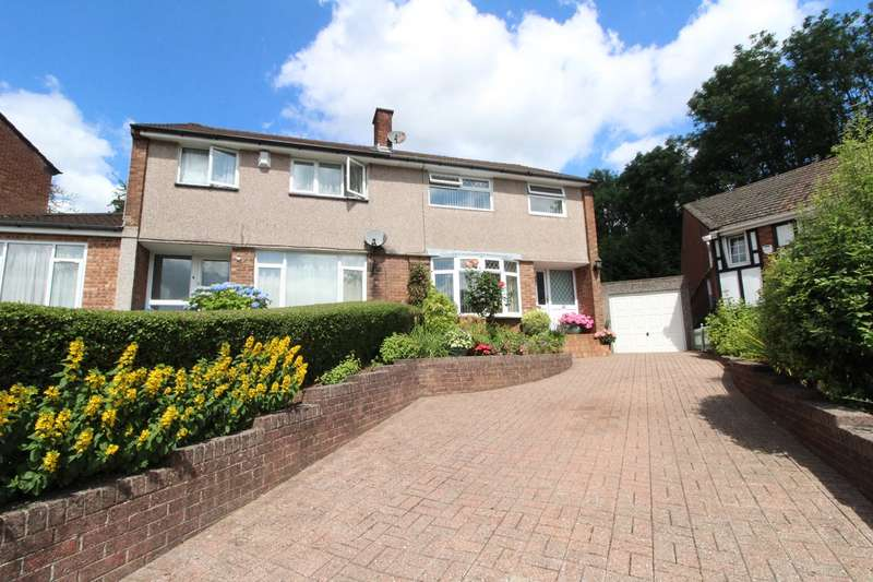 3 Bedrooms Semi Detached House for sale in Horrocks Close, Newport, NP20