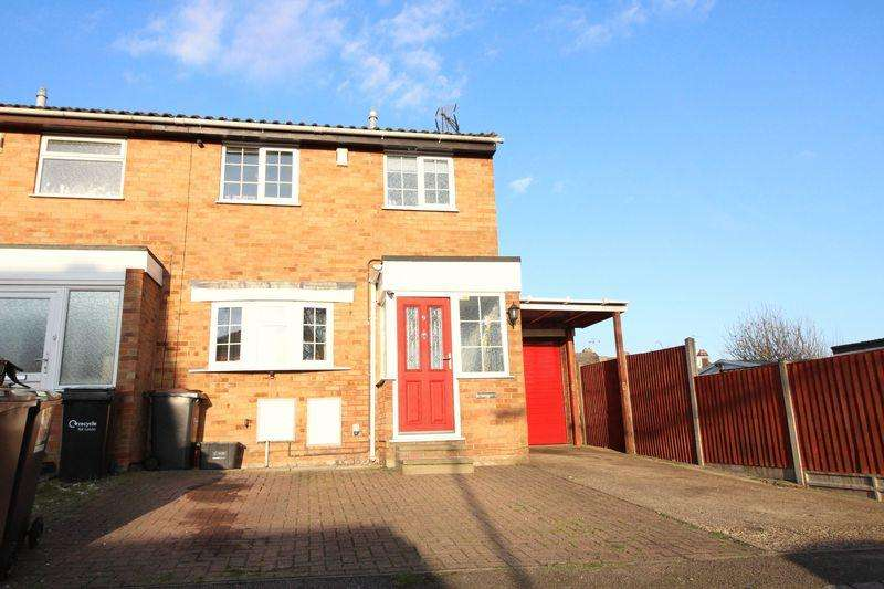 3 Bedrooms End Of Terrace House for sale in Nice Quiet, a short stroll to Leagrave Station, Selina Close