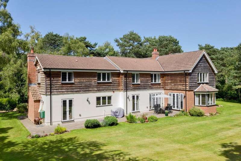 6 Bedrooms Detached House for sale in Sway Road, Sway Road, Lymington, SO41