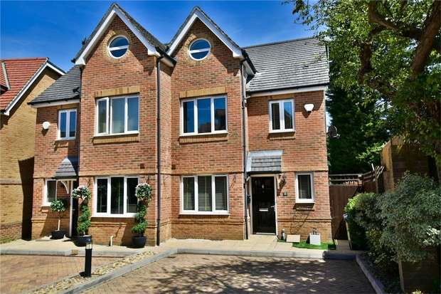 4 Bedrooms Semi Detached House for sale in Linden Close, Iver Heath, Buckinghamshire