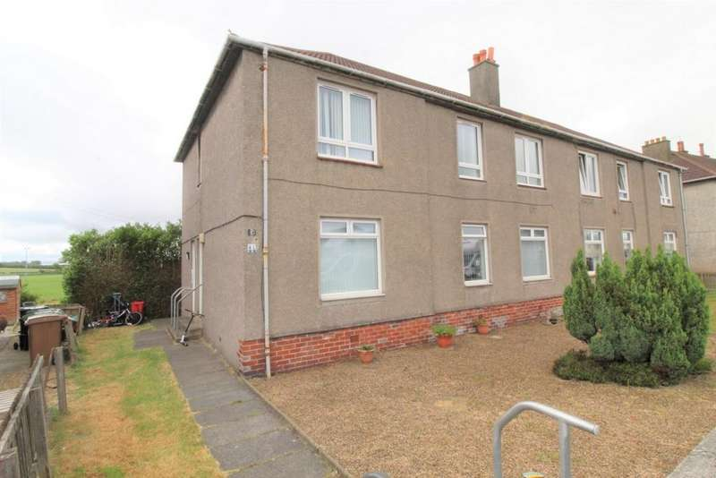 3 Bedrooms Flat for sale in Playingfield Road, Crosshouse, KA2