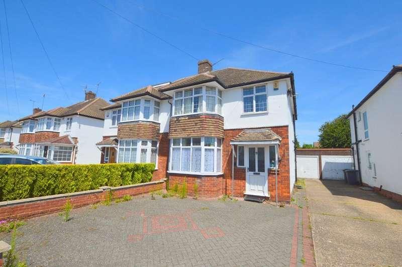3 Bedrooms Semi Detached House for sale in Woodgreen Road, Putteridge, Luton, Bedfordshire, LU2 8BU