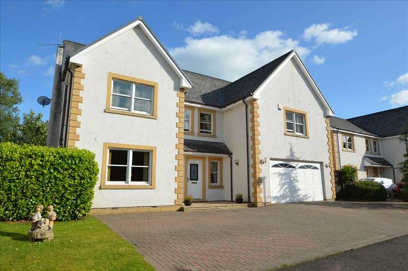 5 Bedrooms Detached House for sale in Holmwood Park, Crossford