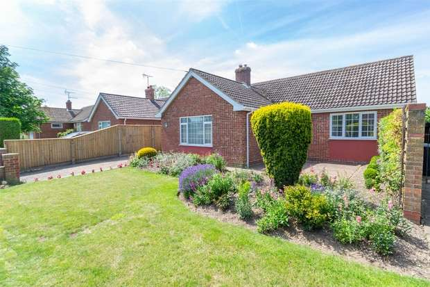 3 Bedrooms Detached Bungalow for sale in South Creake