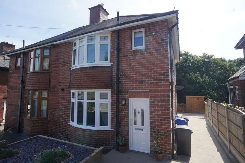 3 Bedrooms Semi Detached House for rent in Lees Hall Road , Norton Lees , Sheffield , S8 9JL
