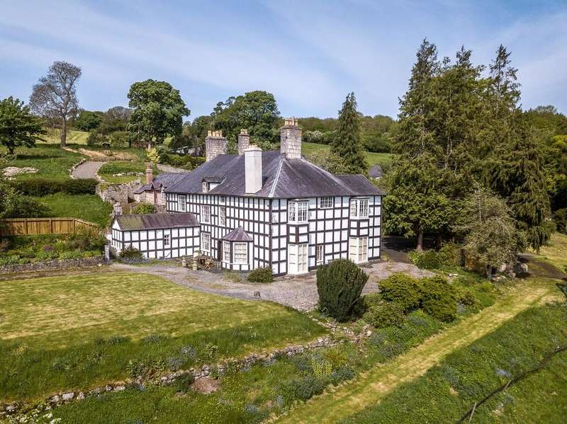 6 Bedrooms Manor House Character Property for sale in Eyarth Hall (Lot 1), Llanfair Dyffryn Clwyd, Ruthin