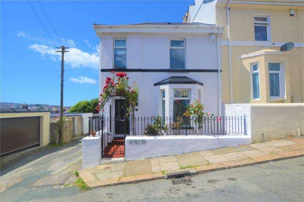 4 Bedrooms End Of Terrace House for sale in Alfred Road, Plymouth, Devon