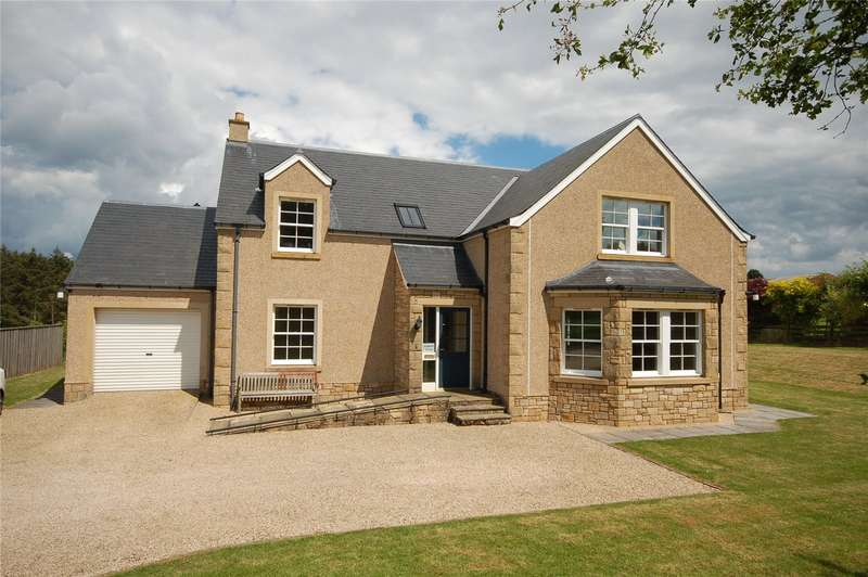 4 Bedrooms Detached House for sale in Bogfield House, Bogend, Duns, Scottish Borders, TD11